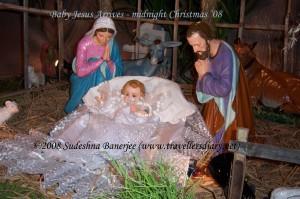 Baby Jesus Arrives
