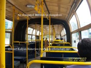 Elongated Bus - Bangalore