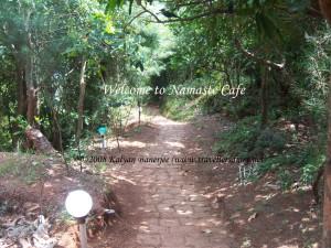 Namaste Cafe Entrance