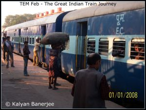 TEM Feb - The Great Indian Train Journey