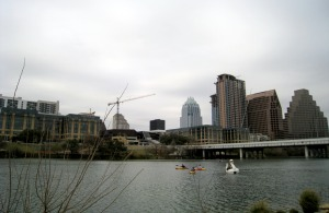 Lake Austin in an Overcast